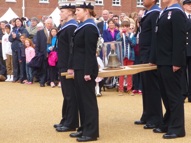 The Mary Rose Bell Returns to her Ship