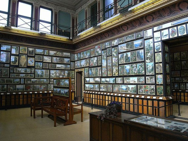 The Marianne North Gallery at Kew Gardens