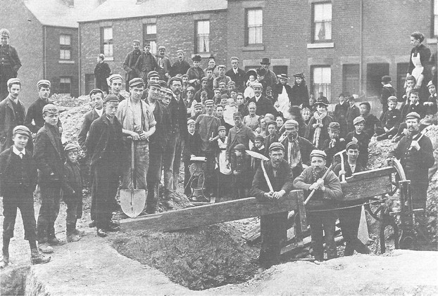Sheffield Miners on Strike 1893