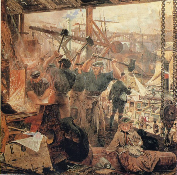 Iron and Coal - William Bell Scott