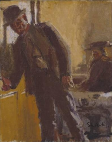 Off To The Pub - Walter Sickert