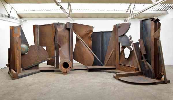 Anthony Caro RA, Shadows, 2013  Steel