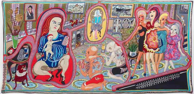 Grayson Perry RA, The Adoration of the Cage Fighters, 2012