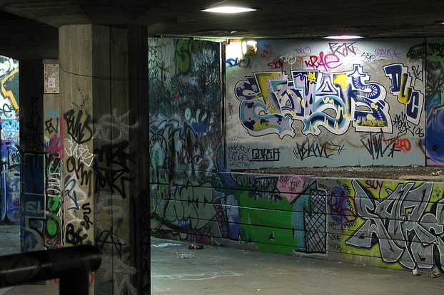 Graffiti, Skate Park, South Bank