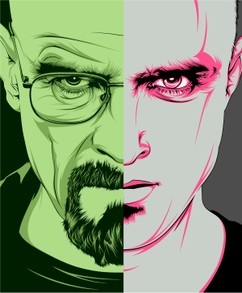 Breaking Bad: Walter vs. Jesse