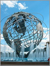 Unisphere, Queens, NYC