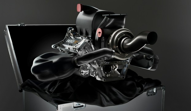 The new Energy F1-2014 Renault engine