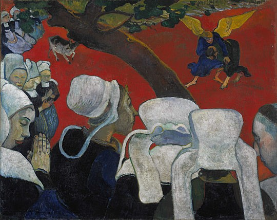 The Vision After the Sermon - Paul Gauguin