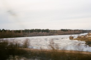 Countryside between Moscow & St Petersburg