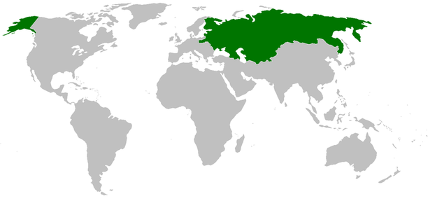 Map of the Russian Empire 1800-1900