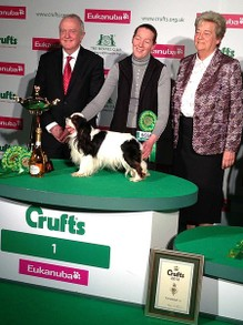 King Charles Spaniel,  Toy group winner, Crufts 2013