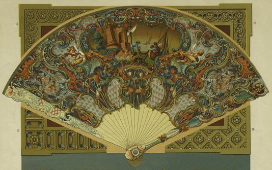 French Fan, 18th Century