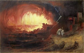 The Destruction of Sodom & Gomorrah - John Martin