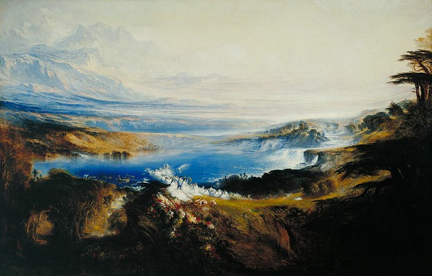 The Plains of Heaven - John Martin