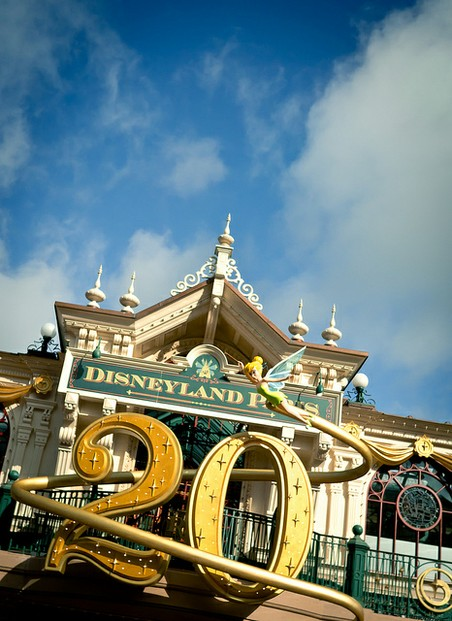 20 year anniversary for Disneyland Paris.