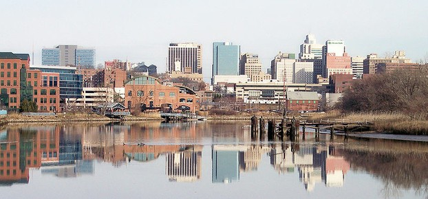 Skyline of Wilmington, Delaware