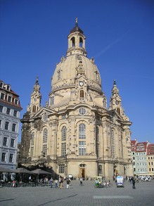 Die Frauenkirche in Dresden now fully restored