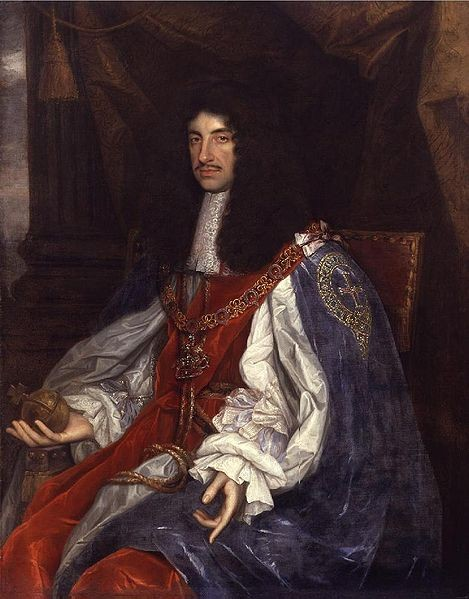 Charles II by Wright