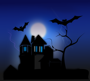 Graphic Of A Haunted House