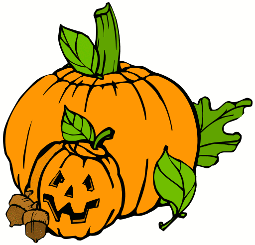 Pumpkin Clip Art, Pumpkin Pictures and Posters for Fall ...