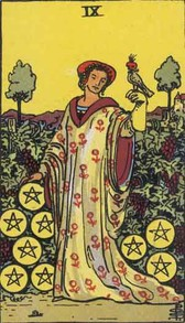 9 of Pentacles Tarot Card
