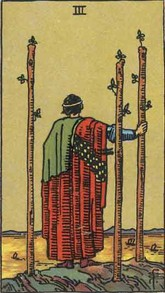 3 of Wands Tarot Card