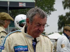 Nick Mason at Goodwood 2013