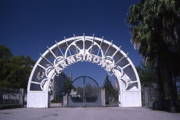 Entrance to Armstrong Park