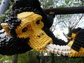 Gorilla In Lego Bricks