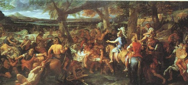 """Alexander and Porus"" by Charles Le Brun, painted 1673."