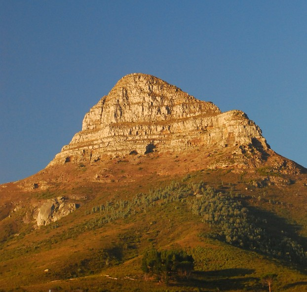 Lion's Head, western plateau of Table Mountain, Cape Town, southwestern South Africa