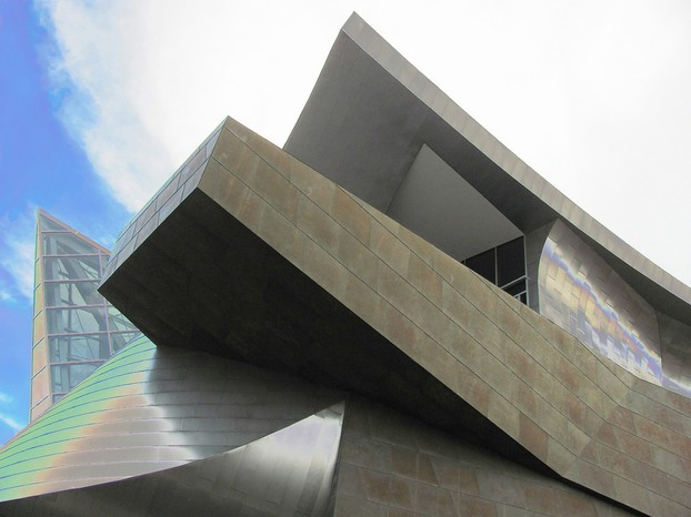Every angle gives a different perspective of the Taubman Museum of Art.