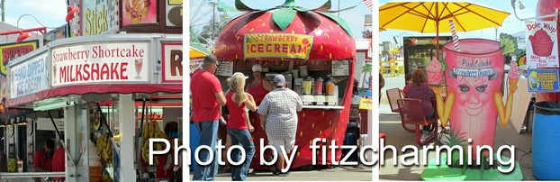 Strawberry Festival Food