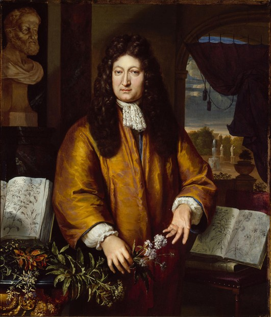 c1675-1700 portrait of Jan Commelijn by Gerhard Hoet (Aug 22, 1648-Dec 2, 1733)(Amsterdam Museum)