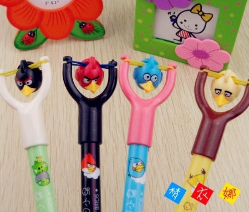 Fun Slingshot Angry Birds Pens make great stocking stuffers