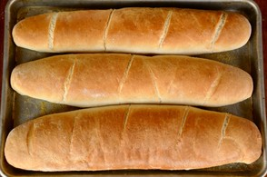 Italian bread (pan italiano)