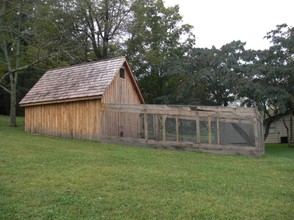 A Replica of Laura's Chicken Coop