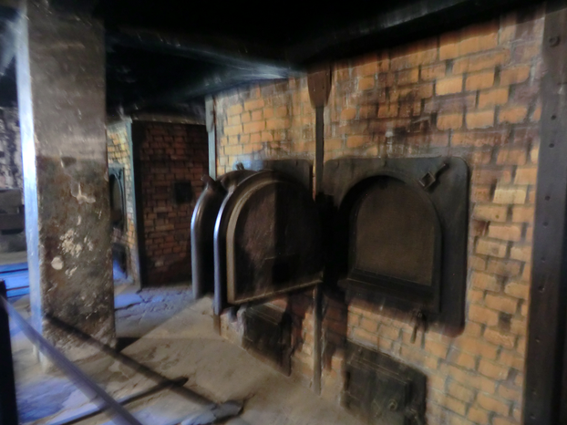 Image: Crematorium at Auschwitz I.