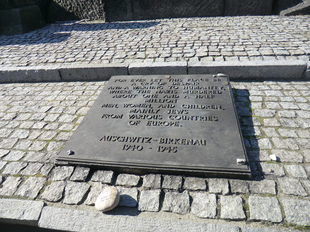Image: A remembrance stone for Fritz Richter (bottom right).