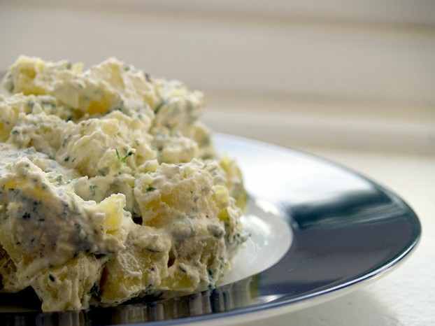 Dill and potato salad tend to be inseparable.