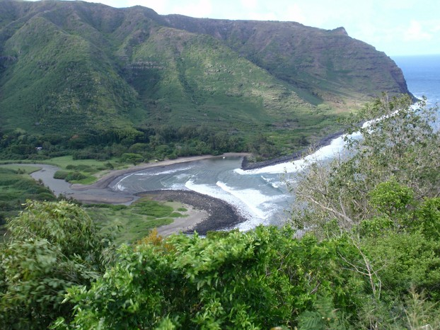 Halawa Bay and Valley, northeastern Moloka'i