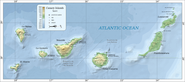 Canary Islands archipelago