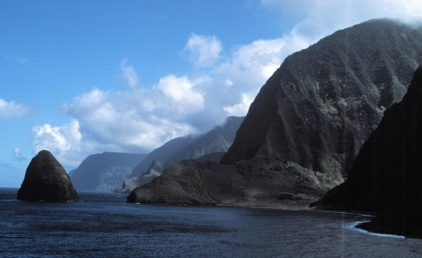North Shore Cliffs from Kalawao scenic overlook in Kalaupapa National Historic Park