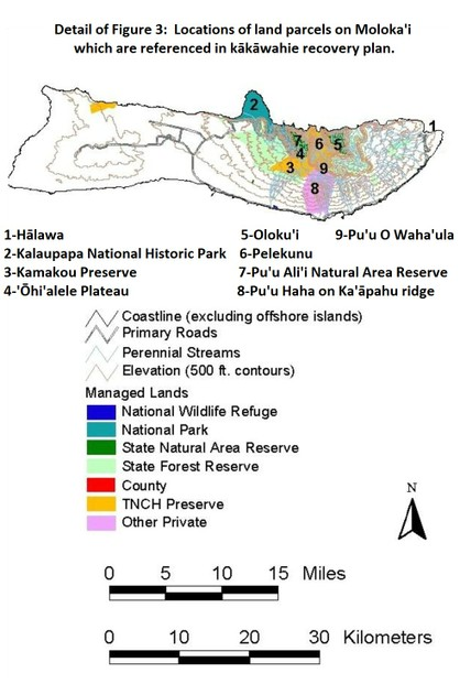 detail of USFWS Figure 3, with Abbreviated Title and Numbered Place Names caption added by Derdriu