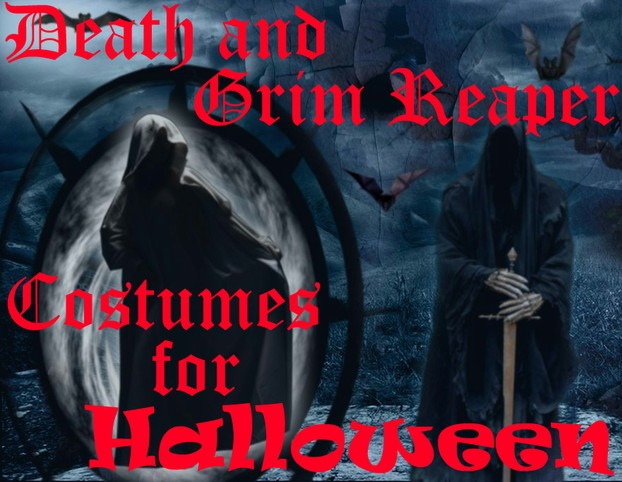 Death And Grim Reaper Costumes For Halloween