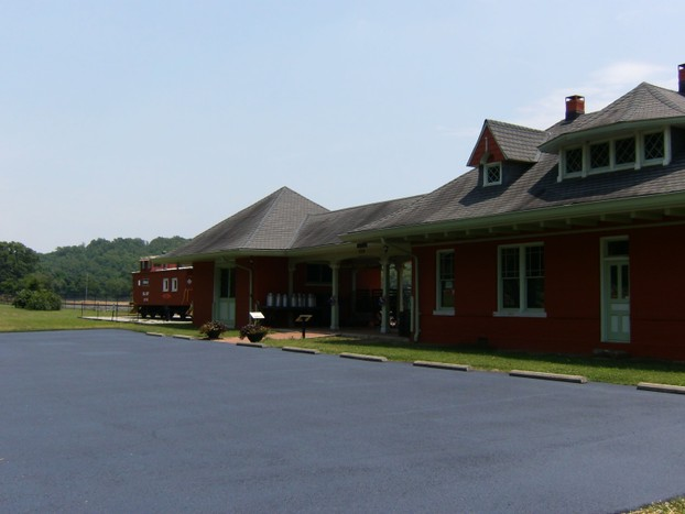 Frisco Train Depot. Mammoth Spring, Arkansas
