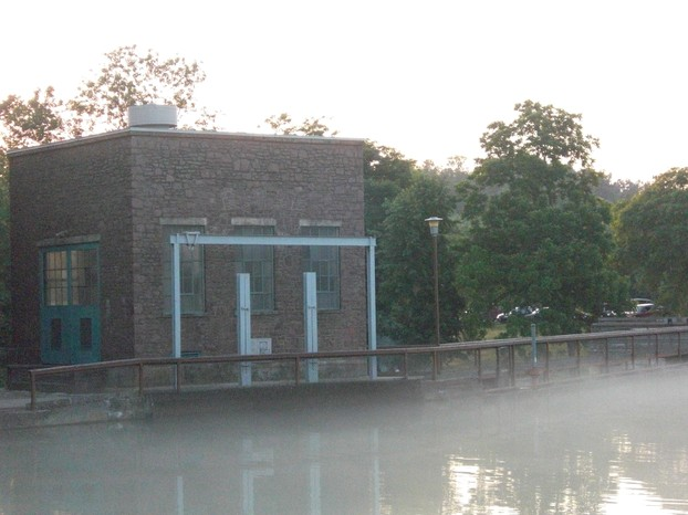 Hydroelectric Plant in Mammoth Spring State Park