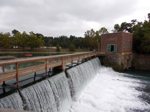 Spring Lake Dam and Hydroelectric Plant. Mammoth Spring, AR