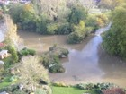 Aerial view of the River Avon