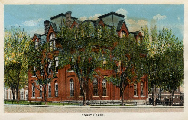 Original Howell County Courthouse, West Plains, Missouri